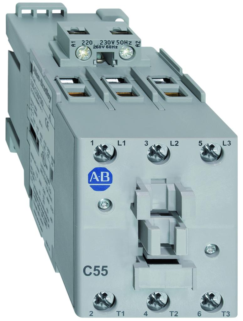 Allen Bradley 100-C55D00 55 Amp IEC Contactor