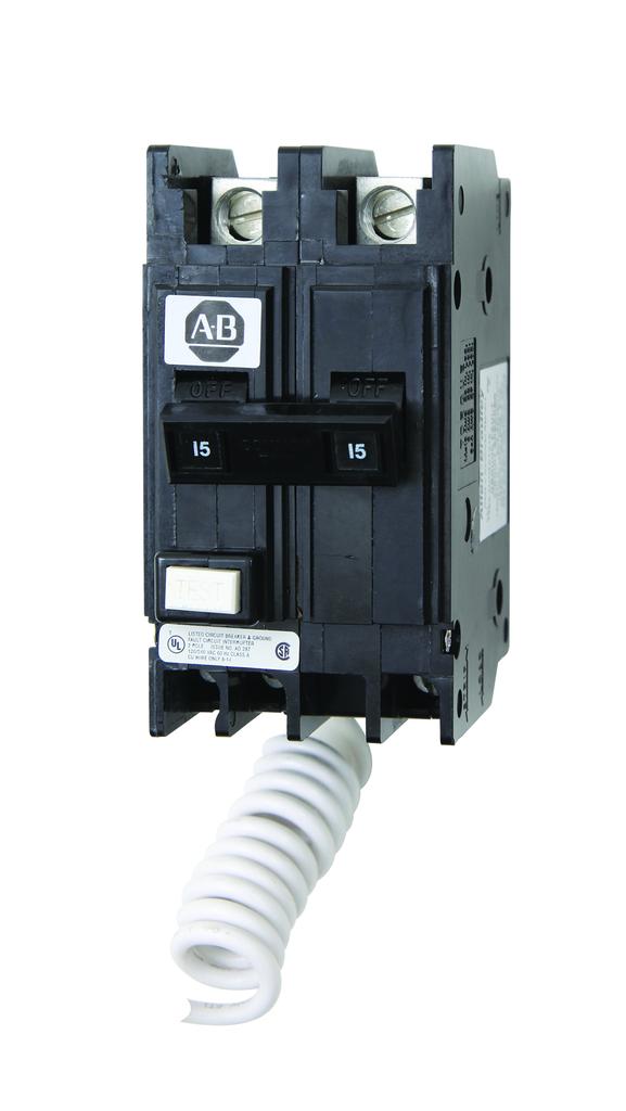 Allen-Bradley 1492-MCEA215 15 Amp Miniature Circuit Breaker