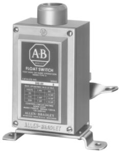 840 Automatic Float Switch Float Operator Assembly, Double Arm Lever, Double Pulley or Single-Sheave Wheel, Base-Mounted, Style A - Industrial Switch, Low Operating Force, Convertable for Tank or Sump Operation, Type 1 enclosure