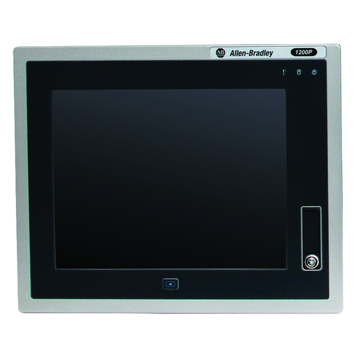 6181P Next Generation Integrated Display Industrial Computer, 12.1 in Display, Aluminum 4:3 Bezel, Performance Package, 32GB SLC Solid State Storage, Windows 7 Professional SP1, Base OS, DC