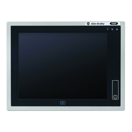 6181P Next Generation Integrated Display Industrial Computer, 15 in Display, Aluminum 4:3 Bezel, Performance Package, 32GB SLC Solid State Storage, Windows 7 Professional SP1, Base OS, AC