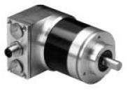 Absolute Encoder, DeviceNet Multi-Turn Magnetic Encoder, One 5-Pin Male Micro QD