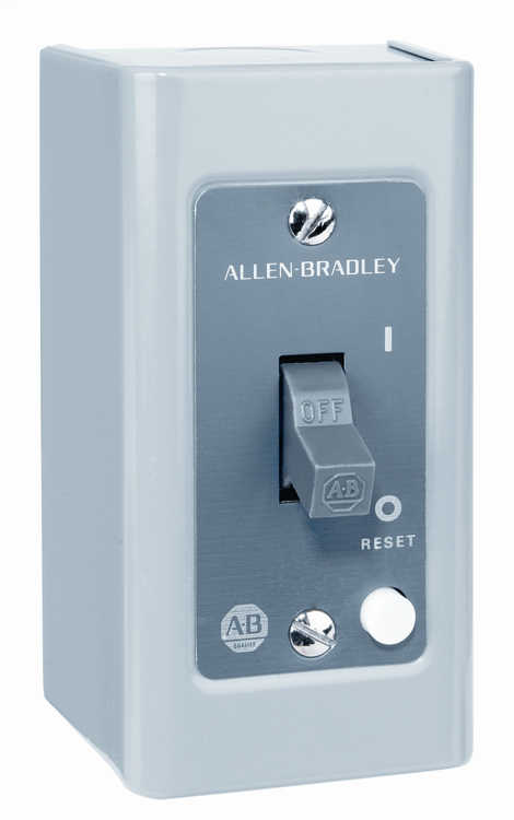 Allen-Bradley 609T-XOX Manual Starting Switch 1 Phase Toggle Lever