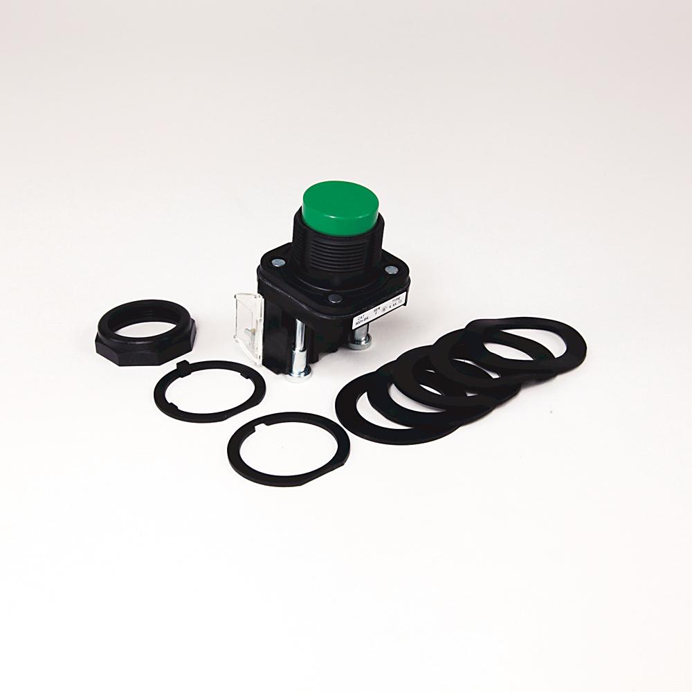 Allen-Bradley 800H-BR1A2 30 mm Momentary Push Button