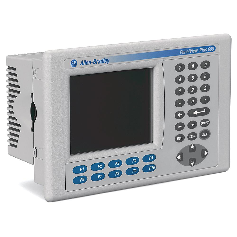 Allen Bradley 2711P-B6C20D8 PanelView Plus 600 Color Key Touch Terminal