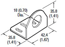 Allen-Bradley 60-2657 Right Angle 90 Degree Mounting Bracket