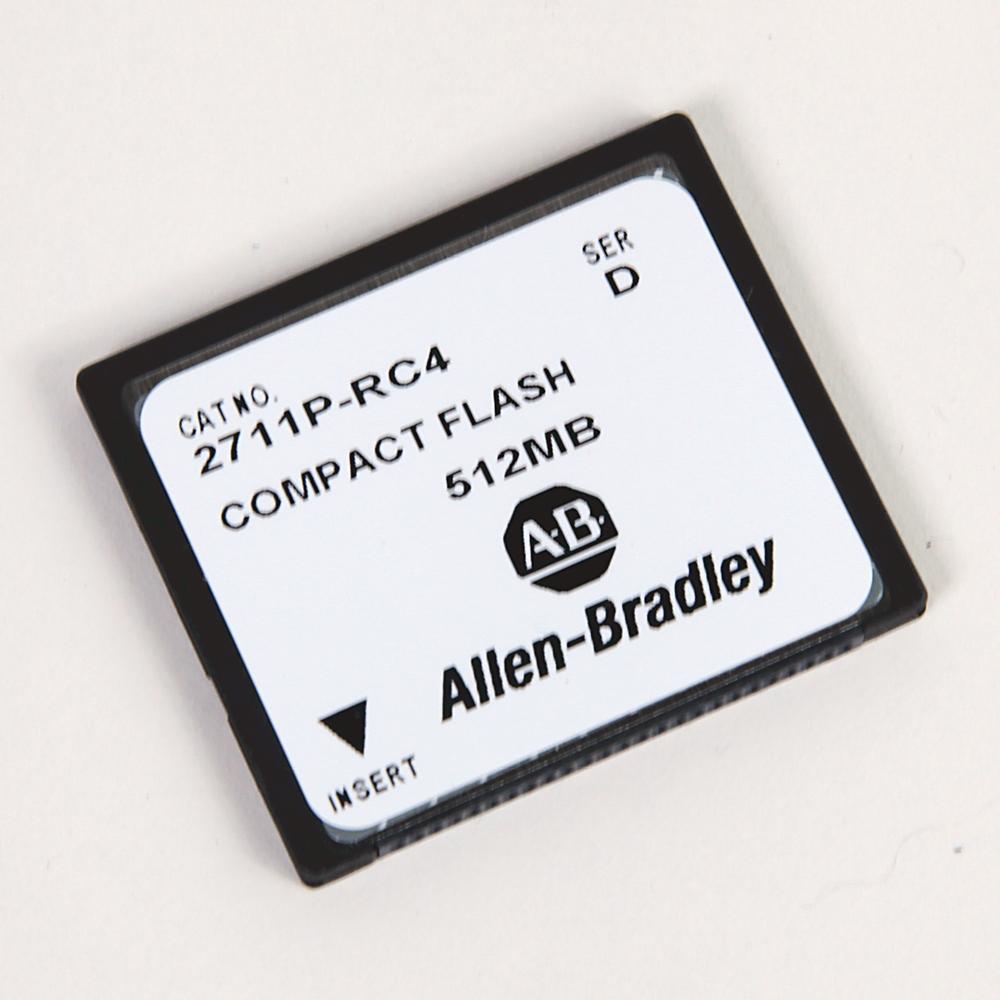 Allen-Bradley 2711P-RC3 Panelview Plus 512 mB External Memory Card