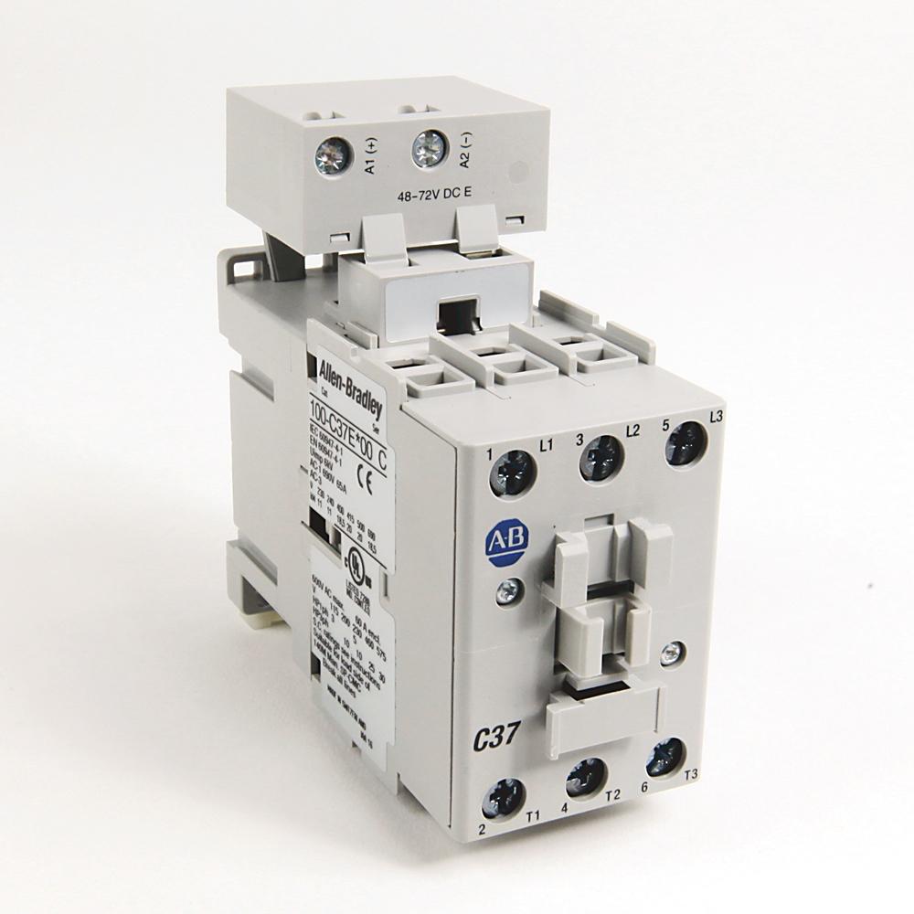 Allen-Bradley 100-C37A10 37 Amp IEC Contactor