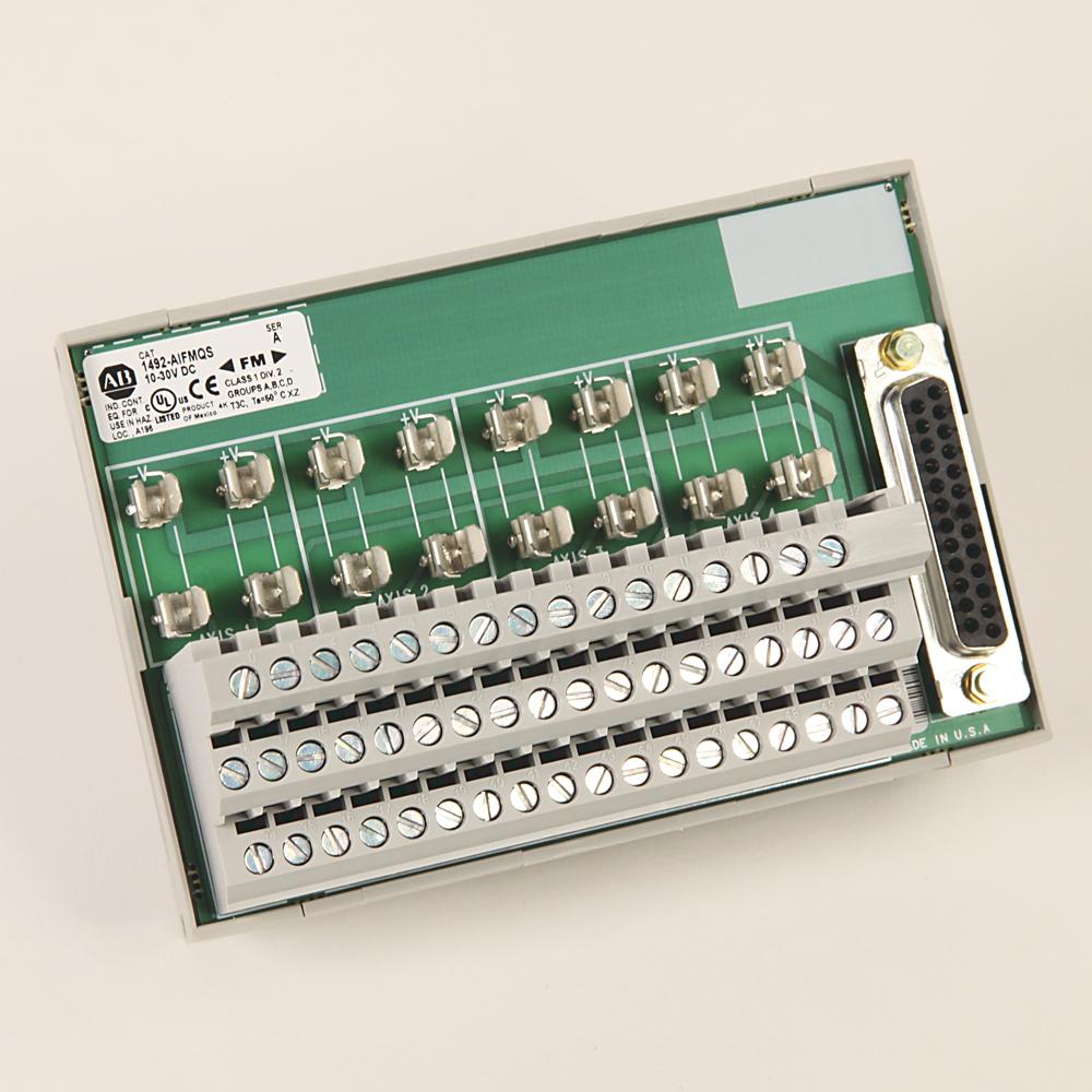 Allen-Bradley 1492-AIFM16-F-3 Wiring System