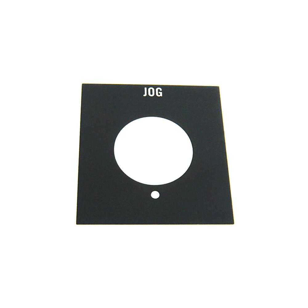 Allen-Bradley 800H-Y17 Push Button Jog Standard Legend Plate