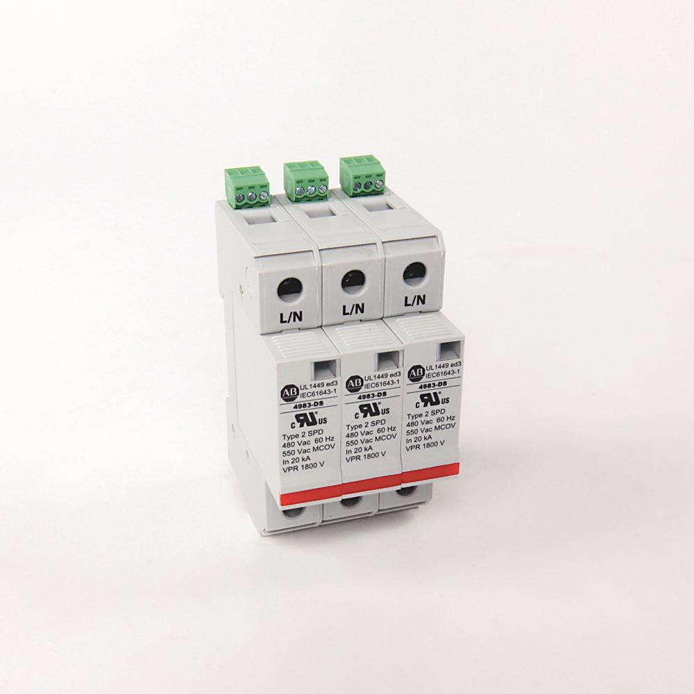 Allen Bradley 4983-DS480-403 DIN Rail Surge Protective Device