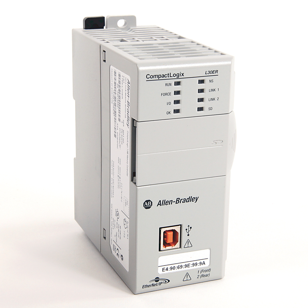 A-B 1769-L30ER CompactLogix 1 MB ENet Controller