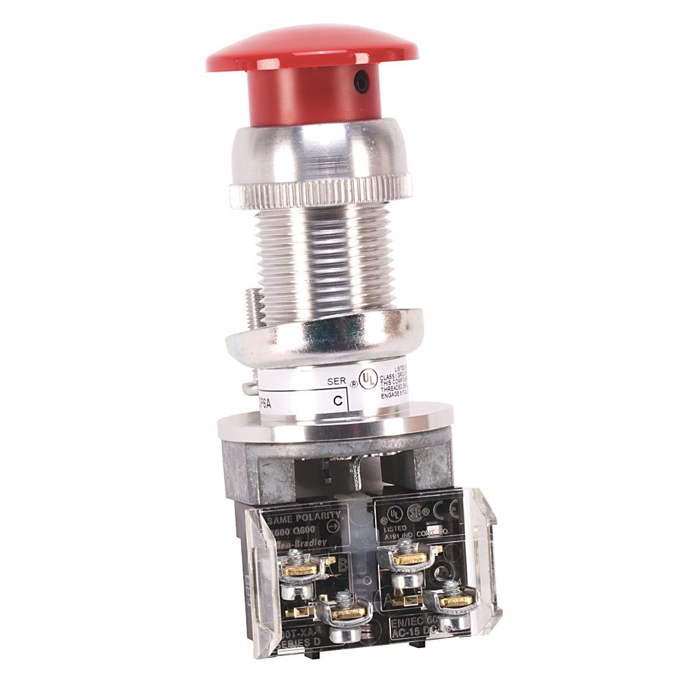 Allen-Bradley 800H-DP6D2 Hazardous Location Type 7&9 Momentary Contact Push Button
