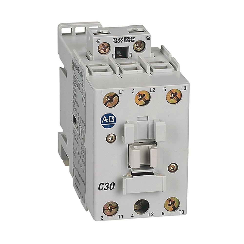 Allen-Bradley 100-C30A01 30 Amp IEC Contactor