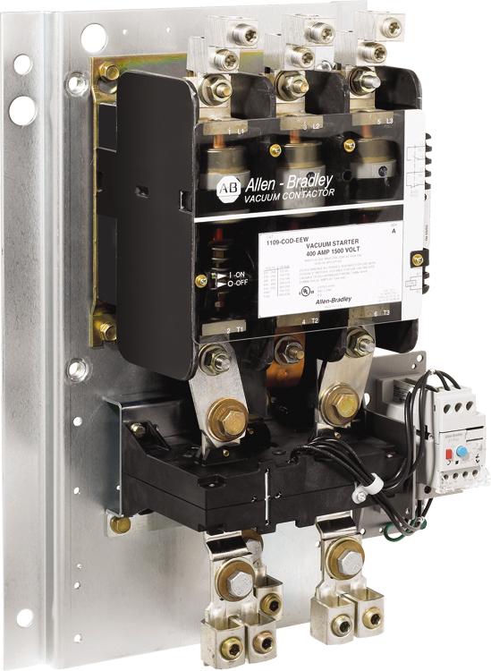 Allen Bradley 1109-COD 400 Amp Vacuum Starter