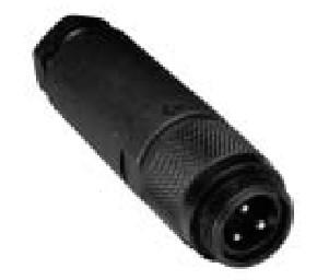 Allen-Bradley 871A-TS3-NM2 3-Pin 16 AWG 4.5 to 7 mm Straight Male NEMA 6 Proximity Sensor Terminal Chamber
