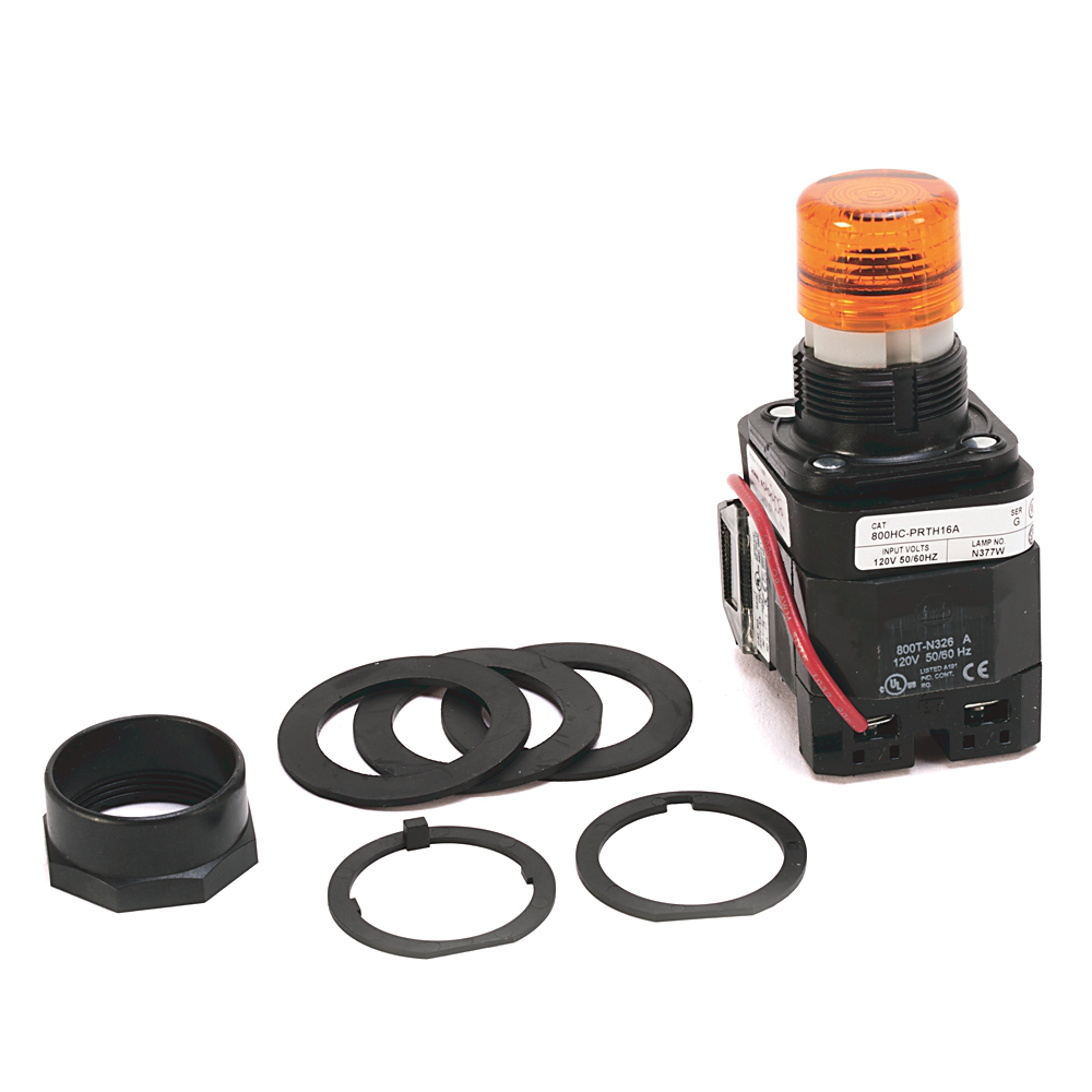 Allen-Bradley 800HC-PRB16W 30 mm Momentary Push Button