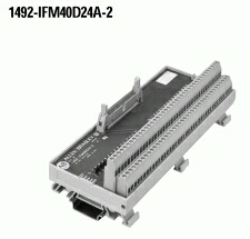 Allen-Bradley 1492-IFM40D24A-2 2 mA 10 to 30 VAC/VDC LED Digital Interface Module