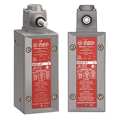 Allen-Bradley 802X-A7 Watertight Limit Switch