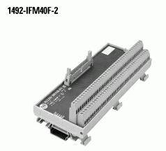 Allen-Bradley 1492-IFM40F-2 12 Amp 132 VAC/VDC Digital Interface Module