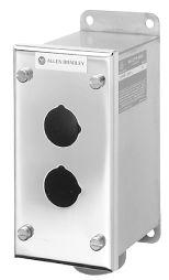 Allen-Bradley 800R-5HZ4 Surface 5 Hole Type 4/4X/13 Push Button Enclosure