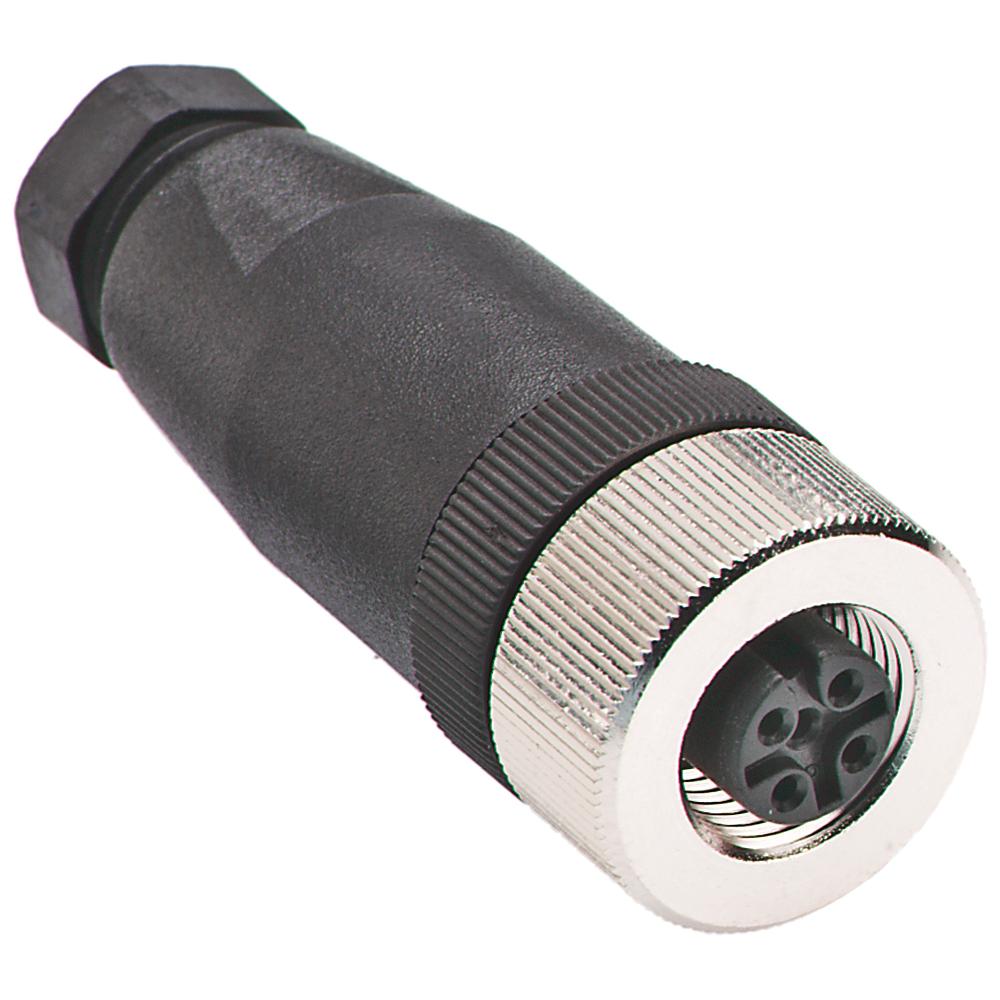 Allen-Bradley 871A-TS3-PM 3-Pin 3.5 to 5 mm Straight Male Proximity Sensor Terminal Chamber