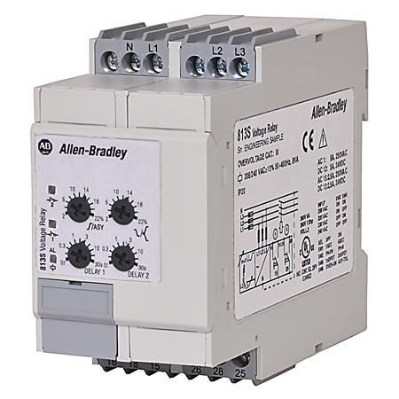 Allen-Bradley 813S-V3-480V Machine Alert 3-Phase Voltage Relay