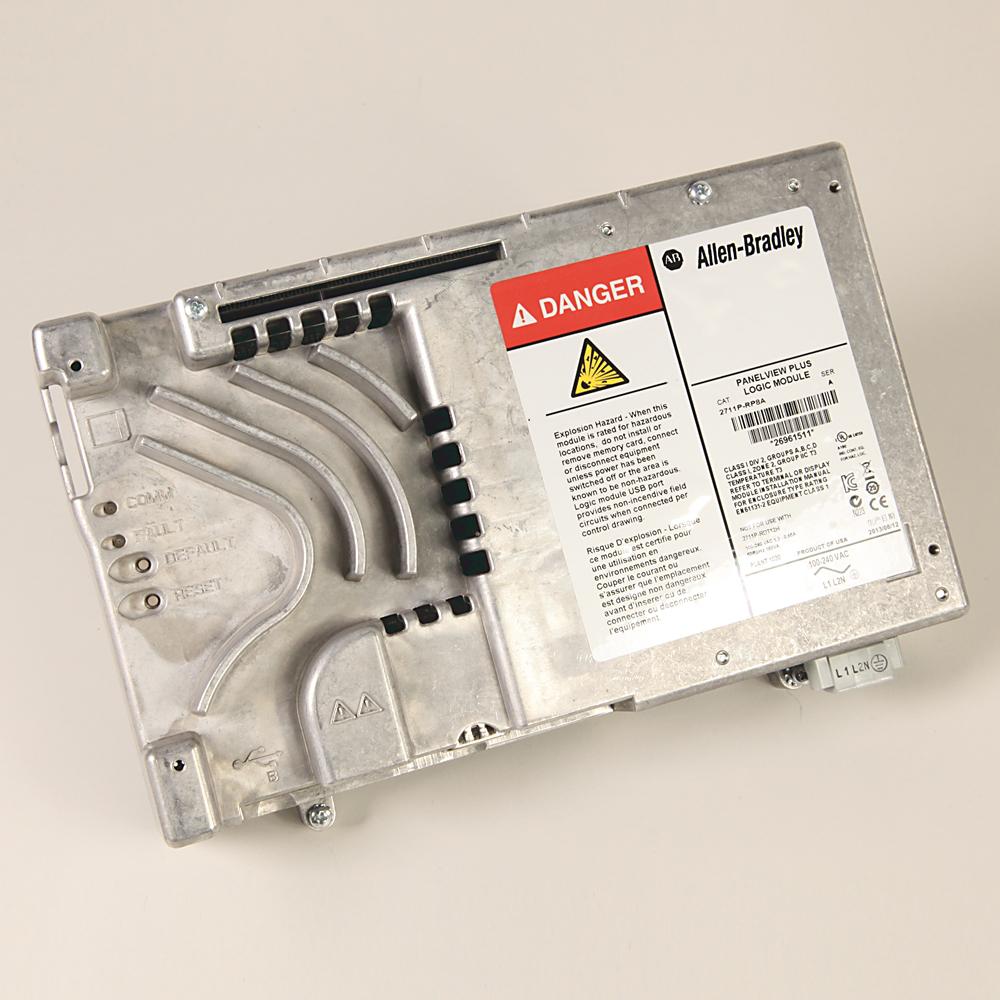 Allen-Bradley 2711P-RP8A Panelview Plus 6 512 mB Memory AC Logic Module