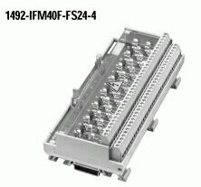 Allen-Bradley 1492-IFM40F-FS24-4 1.5 mA 10 to 30 VAC/VDC Fusible Digital Interface Module