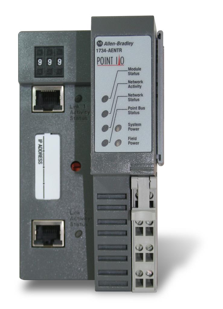 Allen-Bradley 1734-AENTR Point I/O Dual Port Network Adaptor