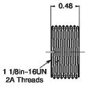 Allen-Bradley 889A-N3ADPT Aluminum Coupling Adaptor