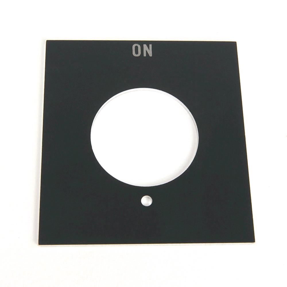 Allen-Bradley 800H-Y30 Type 7&9 Legend Plate for Push Button