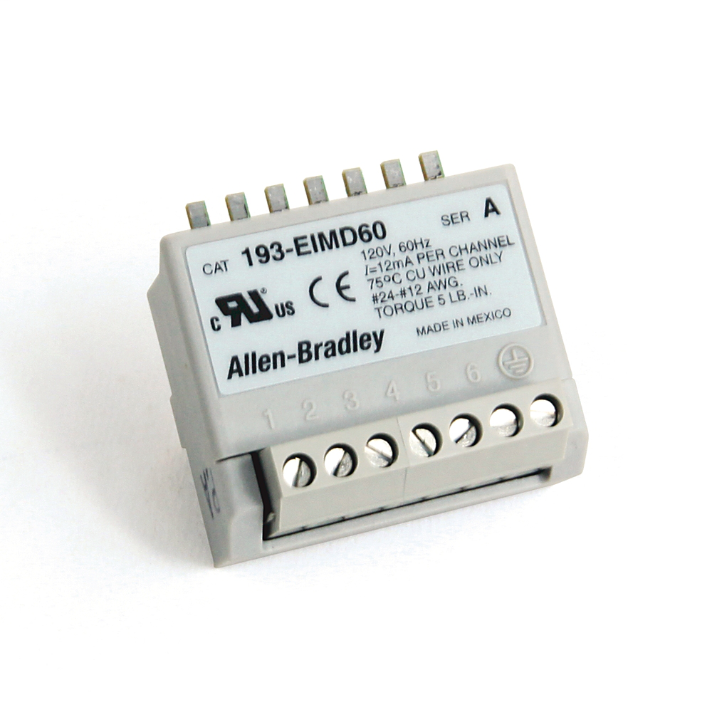 Allen Bradley 193-EIMD60 E3 Plus Input Module
