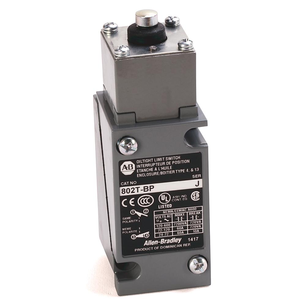 Allen-Bradley 802T-BP Plug-In Oiltight Limit Switch