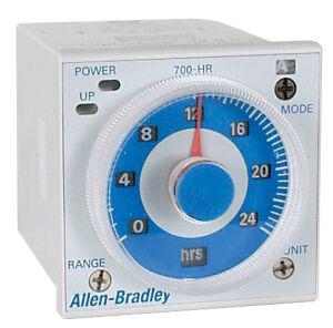 Allen-Bradley 700-HRS42TA17 Tube Base Dial Timing Relay