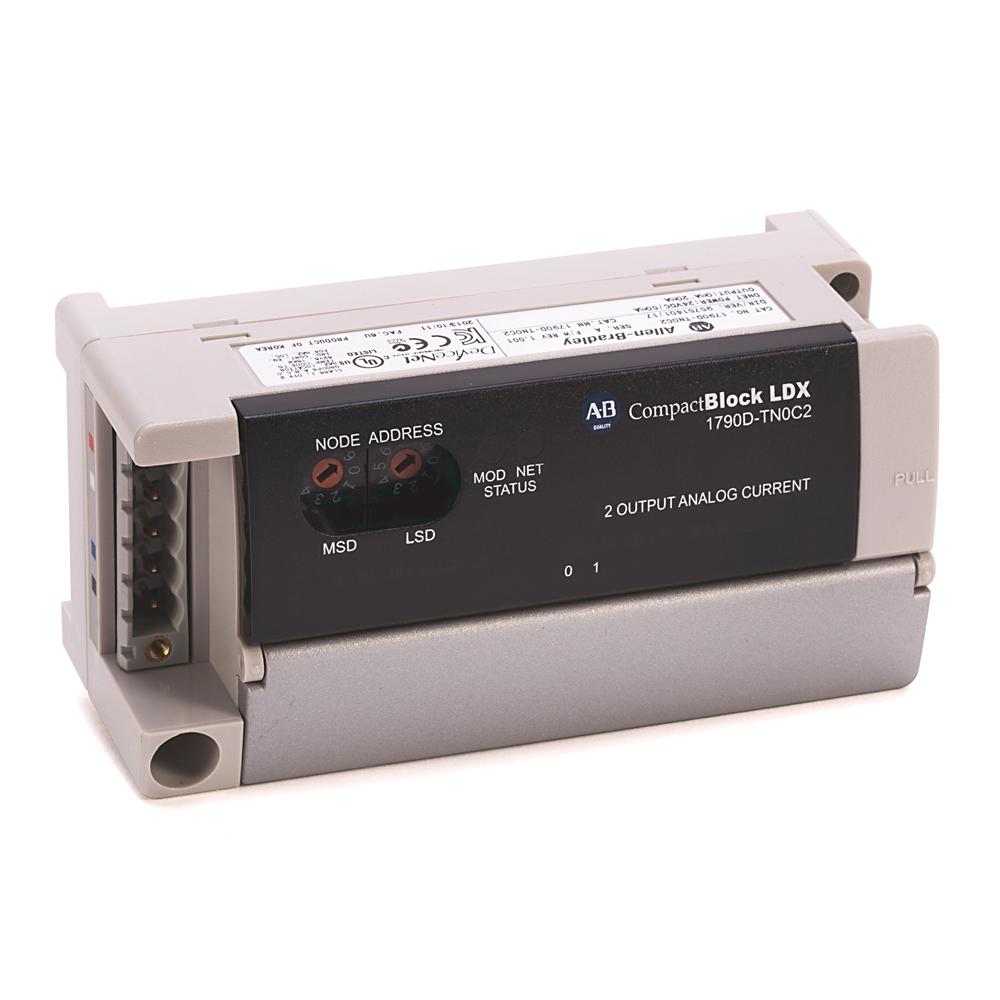 Allen-Bradley 1790D-TN4C0 Compactblock LDX Analog Input Base Block