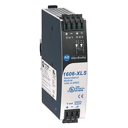 AB 1606-XLSRED 1606-XLSRED:Redundancy Module, Vin 1 -.9Vin,480 W, 10-60V DC Input Voltage
