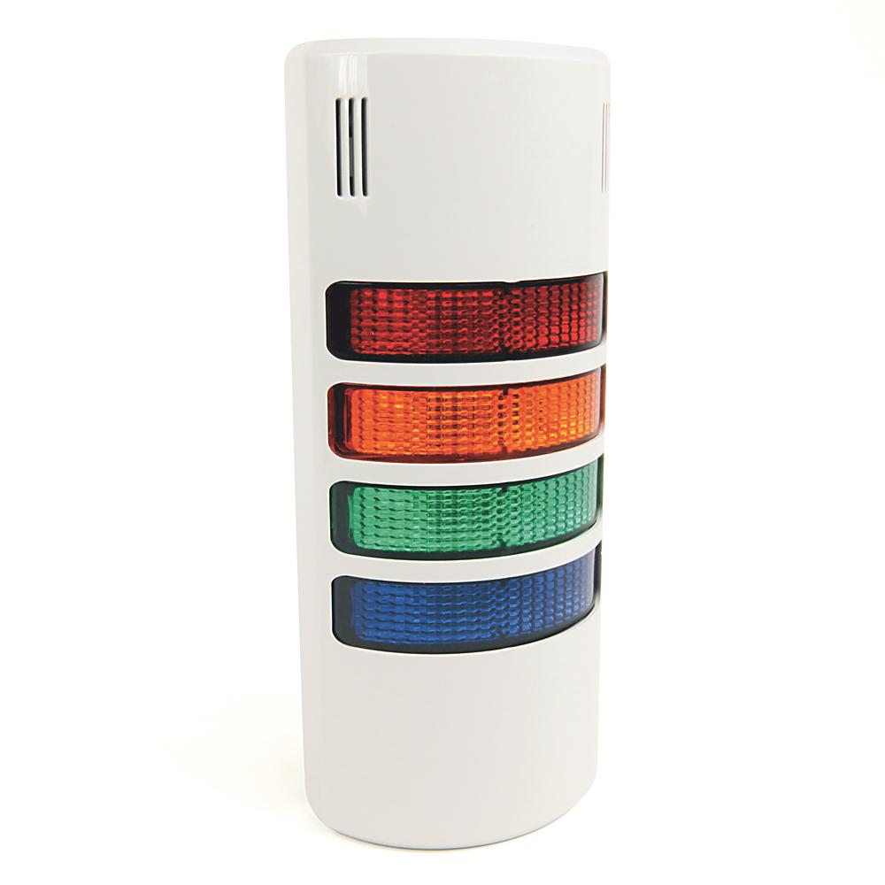 Allen Bradley 855W-G24Y6Y3Y5Y4P1 120 VAC Wall Mount Signal Light