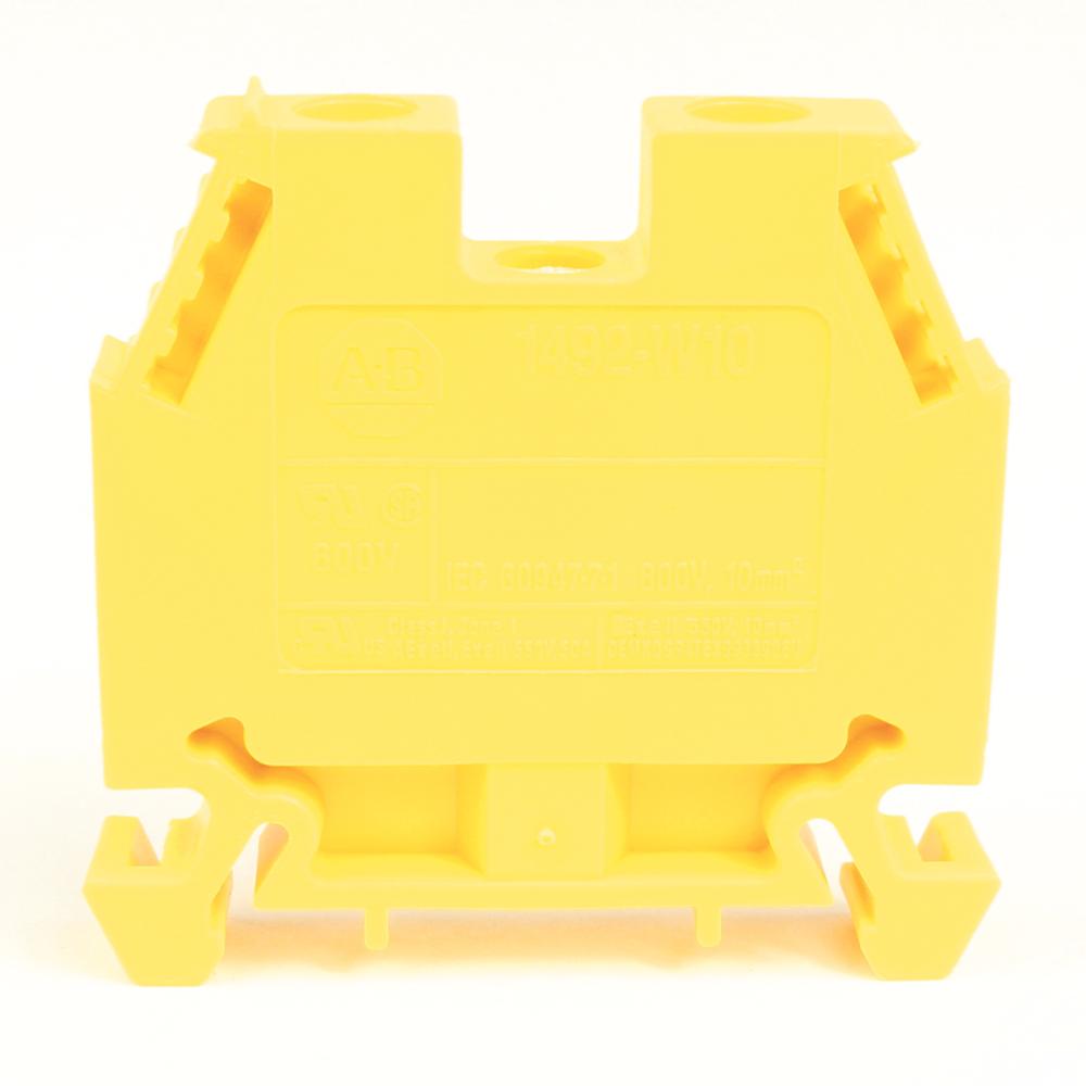 Allen-Bradley 1492-W10-Y IEC Terminal Block 8 x 476 x 41 mm Screw