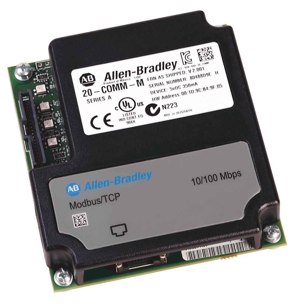 Allen-Bradley 20-COMM-M Powerflex Modbus/TCP Adapter