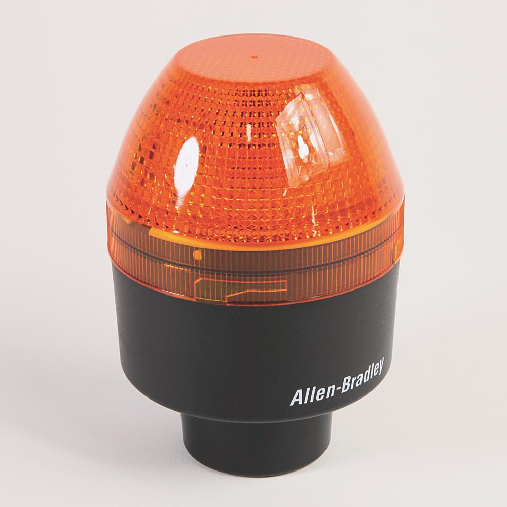 Allen-Bradley 855BS-N10BR6 1/2 Inch Conduit Mount Standard Strobe Blue Round 90 mm Beacon