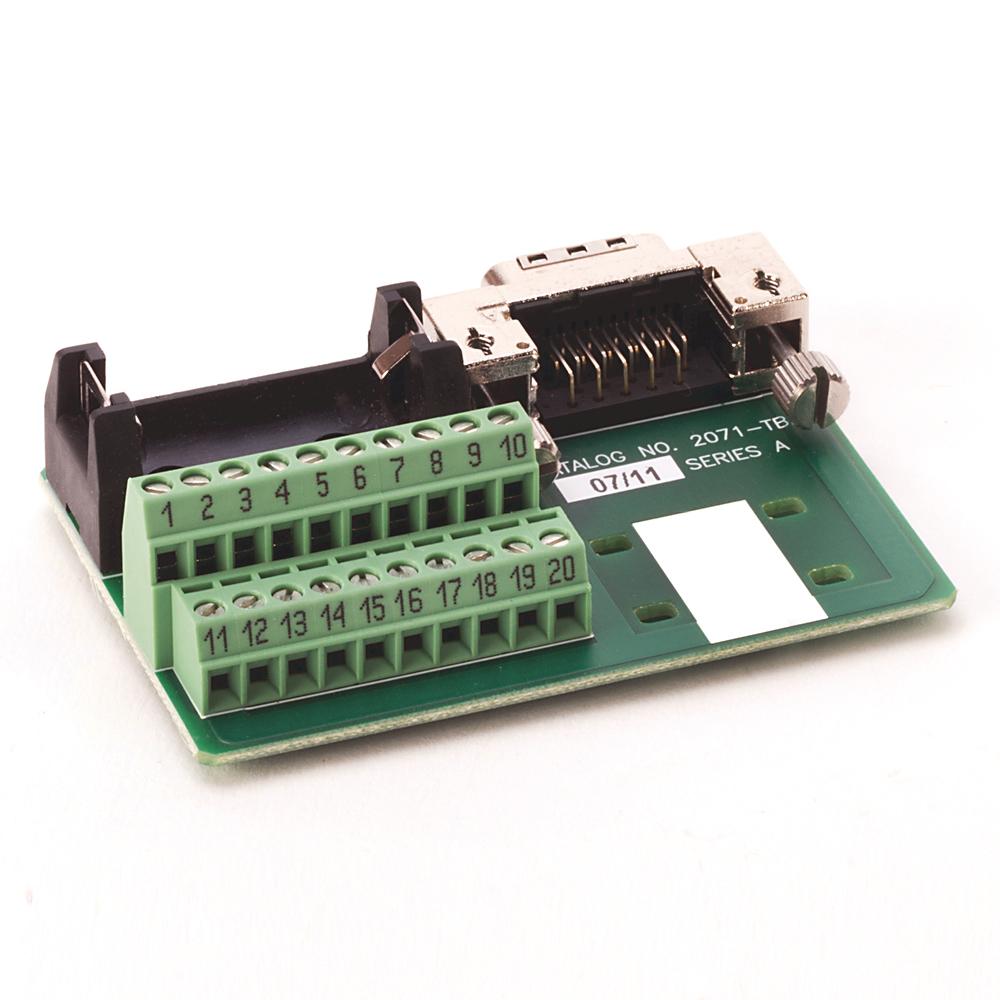 Allen Bradley 2071-TBMF Kinetix 3 Motor Feedback Adapter Board