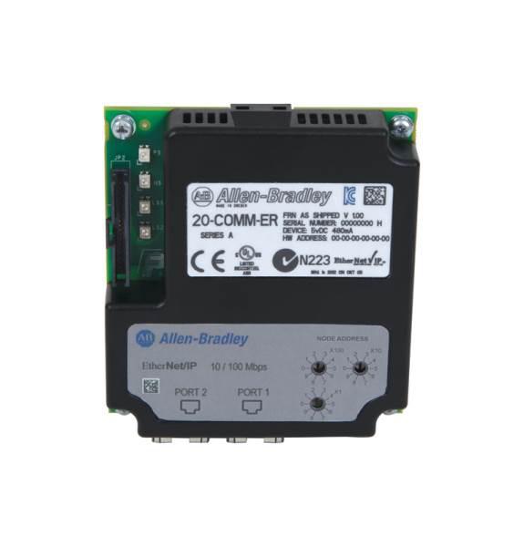 Allen-Bradley 20-COMM-ER Dual-Port Ethernet/IP Adapter