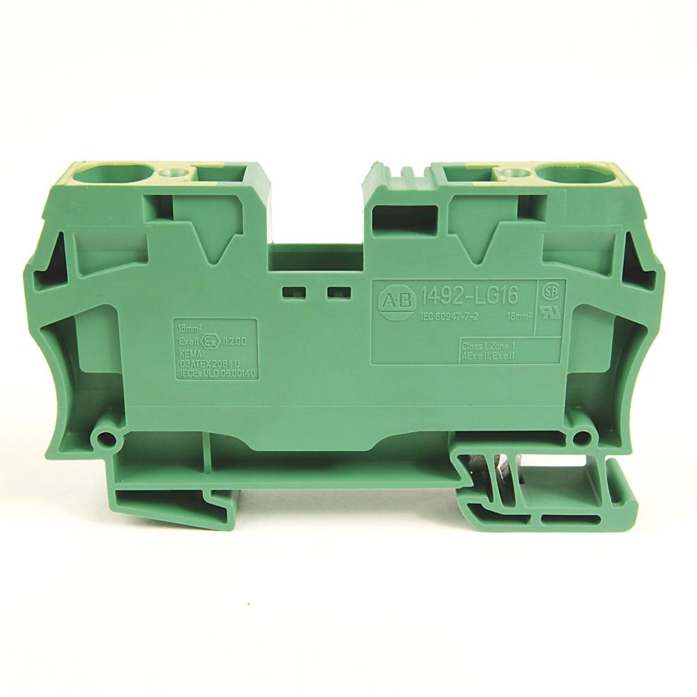 Allen-Bradley 1492-LG16 IEC Terminal Block 12.1 x 82.5 x 43.5 mm Spring Clamp