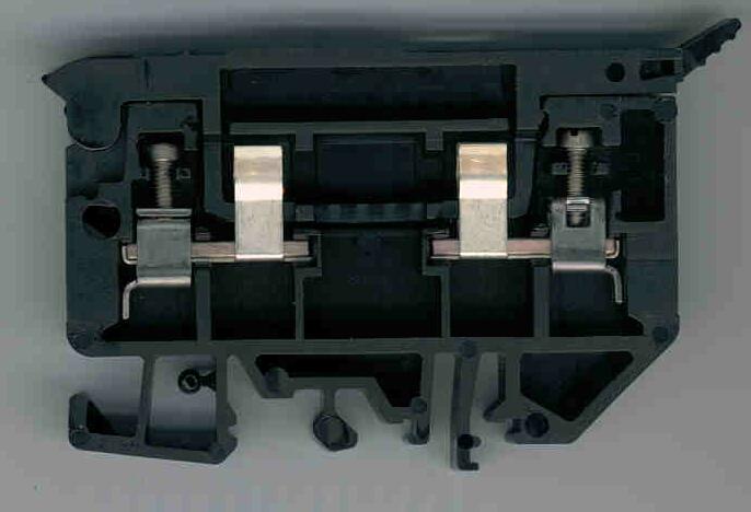 Allen-Bradley 1492-H6 4 mm Fuse Terminal Block