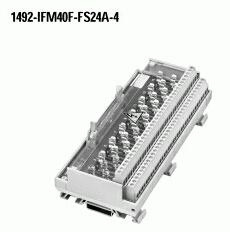 Allen-Bradley 1492-IFM40F-FS24A-4 3.1 mA 10 to 30 VAC/VDC Fusible Digital Interface Module