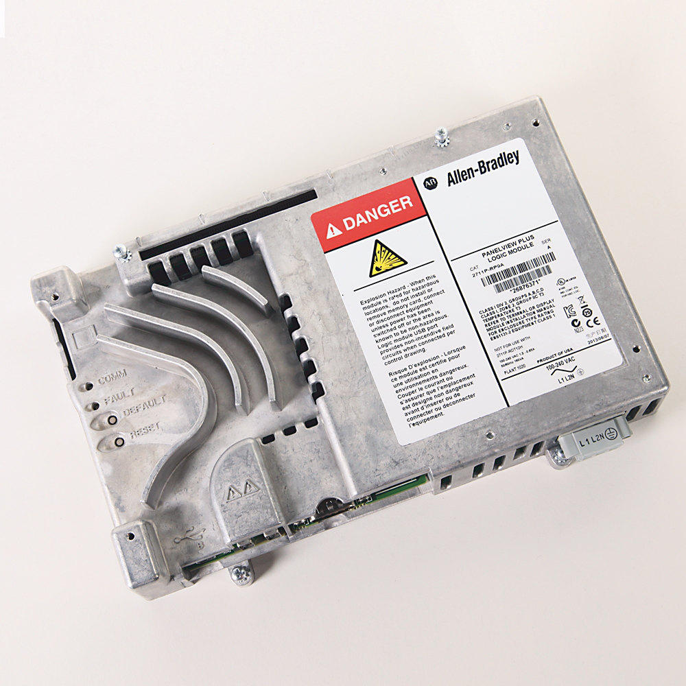 Allen Bradley 2711P-RP9A PanelView Plus 6 512 MB AC Extended Logic Module