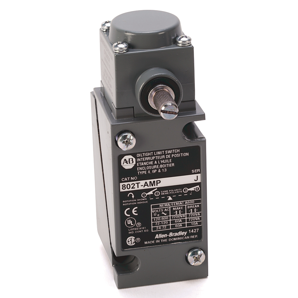 Allen Bradley 802T-NPTPJ1 Oiltight Plug-In Limit Switch