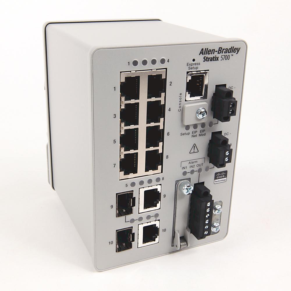 A-B 1783-BMS10CA Stratix 5700 10 port managed Switch