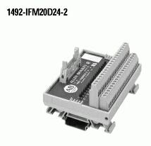 Allen-Bradley 1492-IFM20D24-2 2 mA 10 to 30 VAC/VDC LED Digital Interface Module